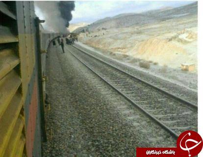 برخورد دو قطار در ایستگاه هفت خوان سمنان+آخرین جزییات و تصاویر