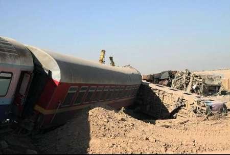 برخورد دو قطار در سمنان