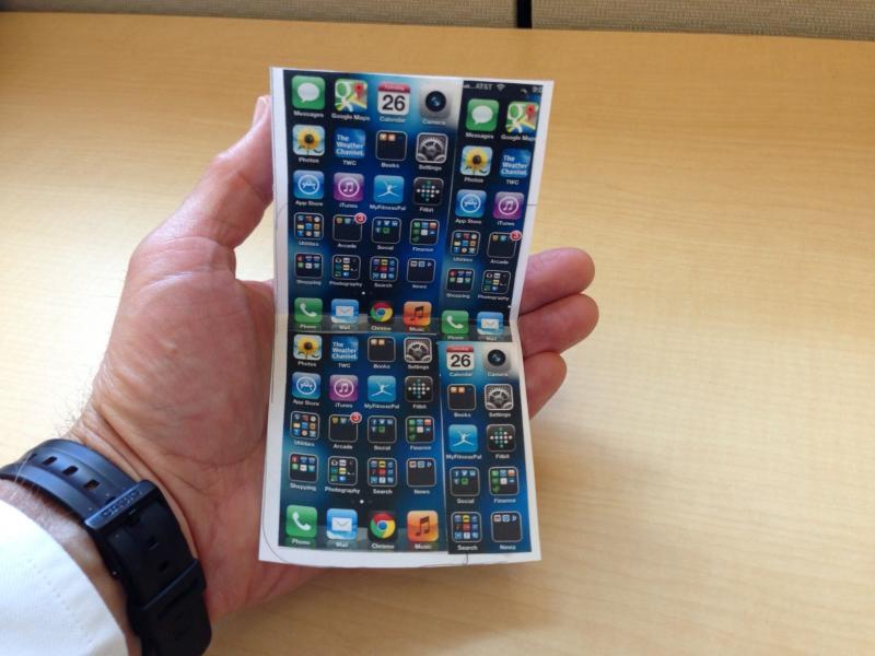 گوشی های آیفون شما خم می شوند اما نمی شکنند