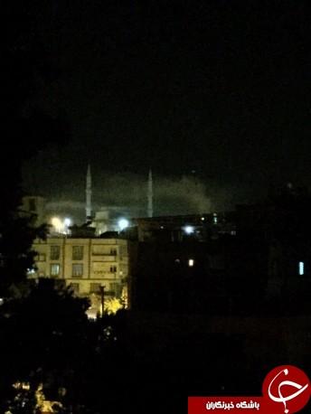 انفجار در شهر غازی عینتاب در جنوب ترکیه/ شنیده شدن صدای شلیک گلوله