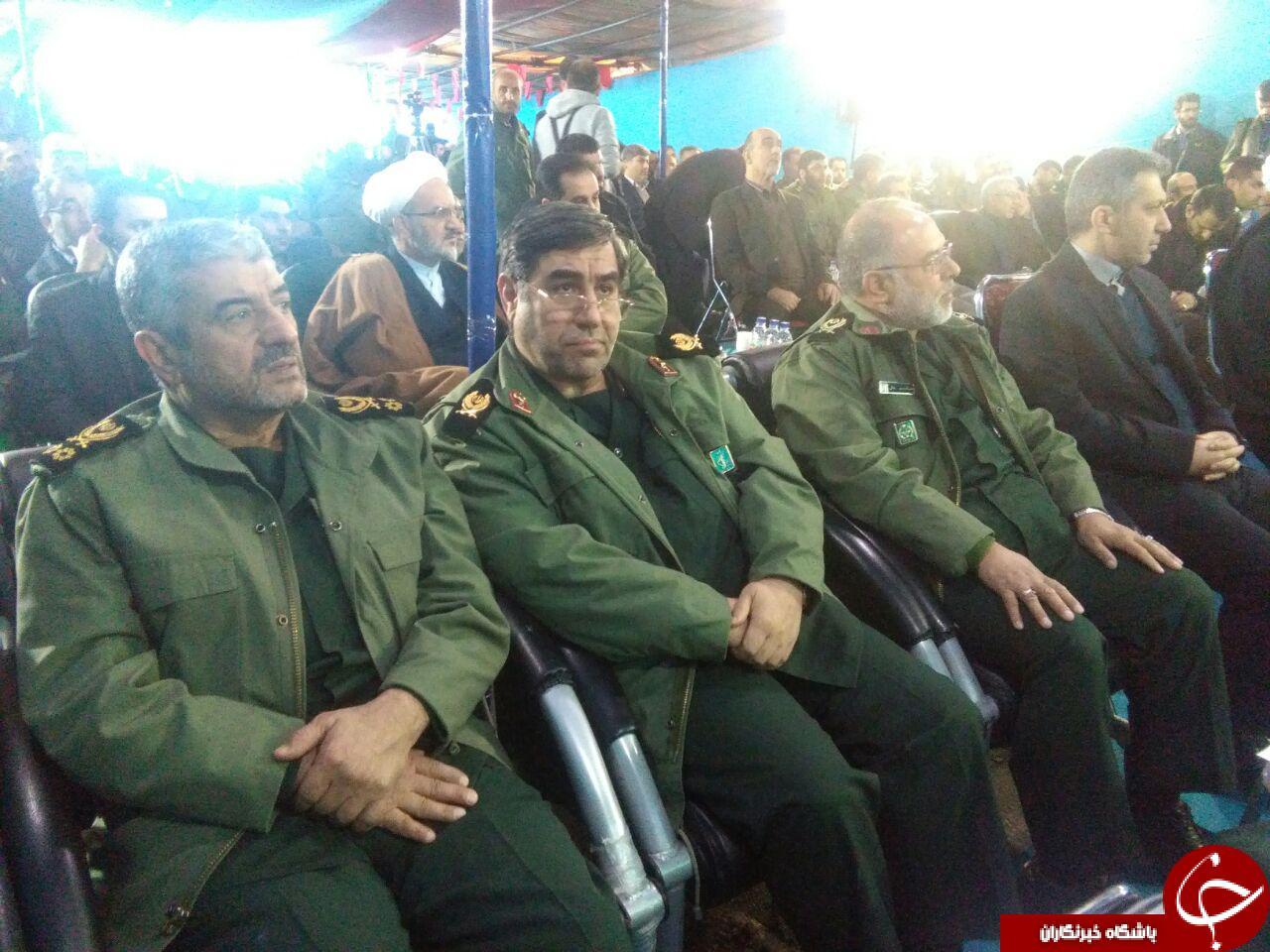 سفر فرماندهی کل سپاه پاسداران در مازندران+ تصاویر