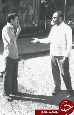 تصویر دیده نشده شهید لاجوردی و رابط دستگیرشده منافقین با KGB