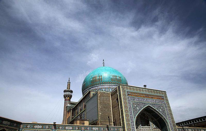 توسعه شبستان ها در مسجد جامع گوهرشاد