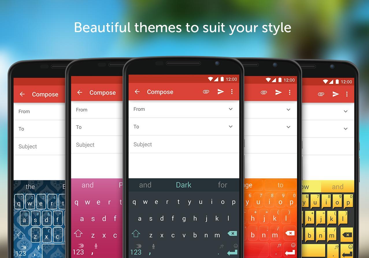 دانلود SwiftKey Keyboard + Emoji 7.1.4.19 - محبوبترین کیبورد اندروید