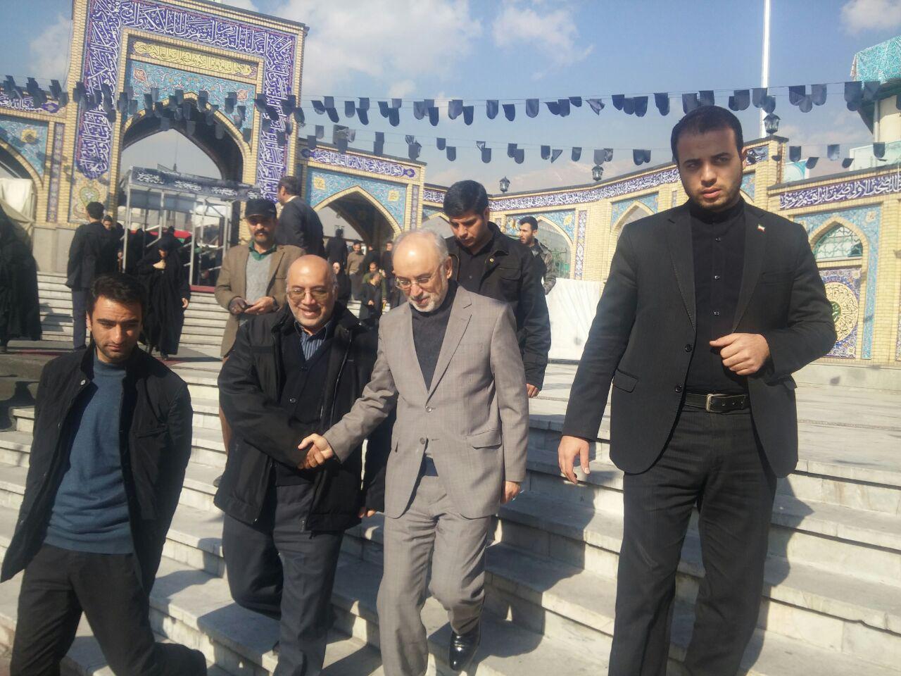 علی اکبر صالحی در مراسم گرامیداشت شهید مجید شهریاری شرکت کرد