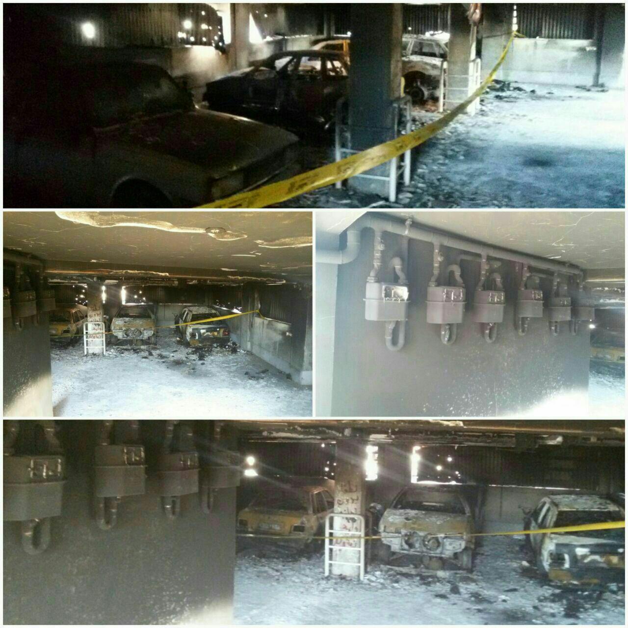 آتش سوزی در مسکن مهر آرام و بیدگل