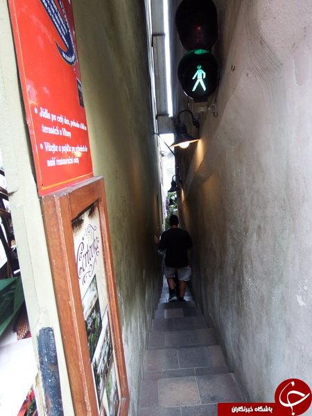 تنگترین خیابان جهان + عکس
