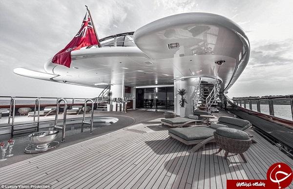 لوکسترین کشتی تفریحی جهان +تصاویر