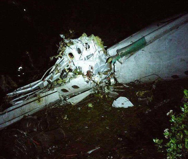 سقوط هواپیمای بازیکنان تیم برزیل/همبازی سابق دژاگه در فهرست قربانیان+تصاویر