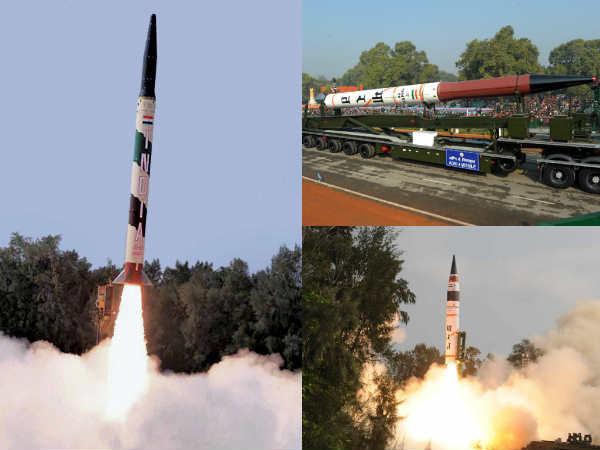 آتشبازی ارتش هند با موشک آگنی 1 + تصاویر و مشخصات