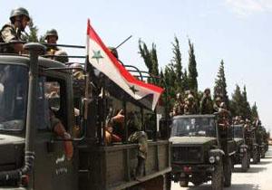 وقوع درگیری بین ارتش سوریه و تروریست های جبهه النصره در دمشق