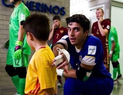 دروازه بان بوشهری در لیگ برتر فوتسال رکوردار شد