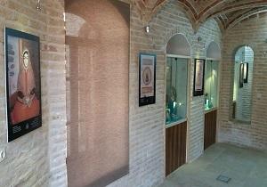 برپایی نمایشگاه نگارگری در موزه اقوام گرمسار
