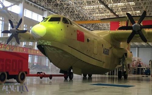 پرواز بزرگترین هواپیمای آبی-خاکی جهان