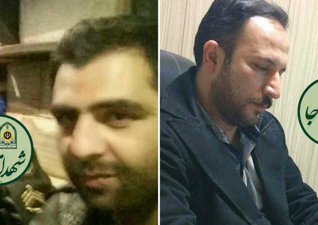 شهادت دو تن از مأموران فداکار پلیس حین انجام وظیفه در تهران