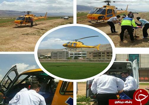 8 مصدوم تصادف رانندگی در منطقه سیاخ دارنگون + تصاویر