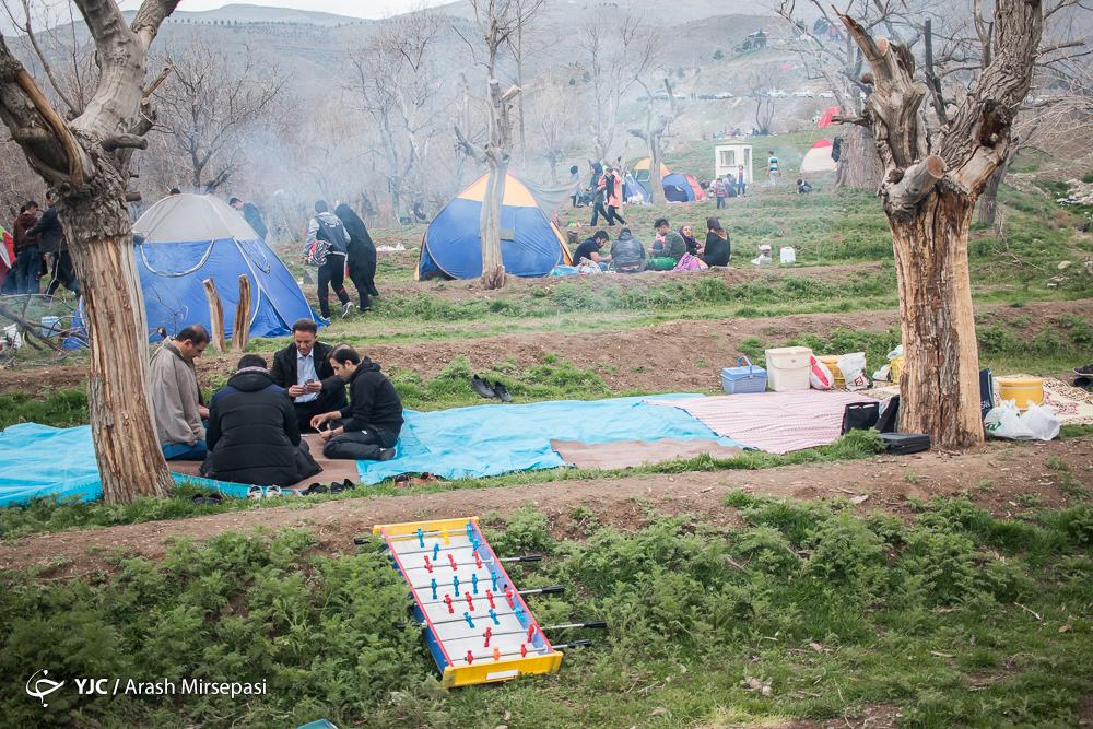 تصاویر جذاب و دیدنی از روز طبیعت (13بدر) در ایران