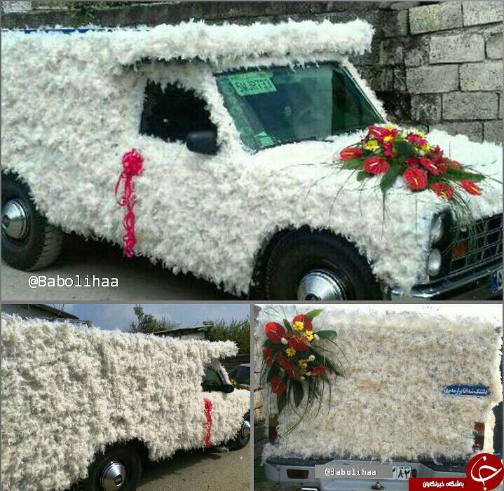 ماشین عروس نیسانی