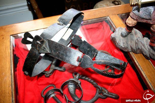 مردی که بزرگترین کلکسیون آلات شکنجه جهان را در اختیار دارد + تصاویر