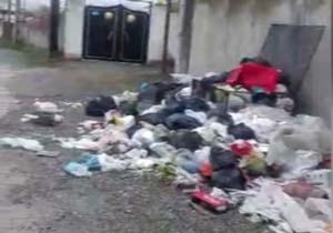 انباشت زباله در معابر کردآباد + فیلم