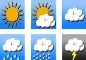 پیش بینی هوای بارانی و رعد وبرق در استان