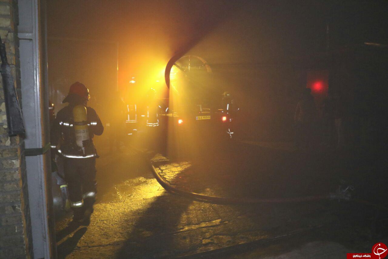 اخبار و جزئیات آتش سوزی مشهد 15 فروردین 96