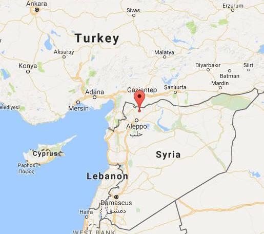 ساخت پایگاه نظامی ترکیه در شمال سوریه + تصاویر ماهوارهای