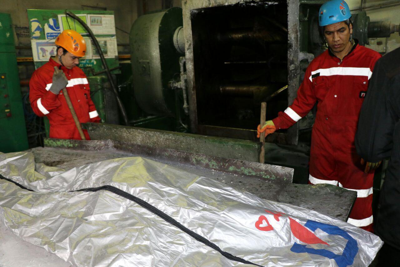 مرگ دلخراش کارگر جوان در دستگاه میکسر در مشهد+ تصاویر