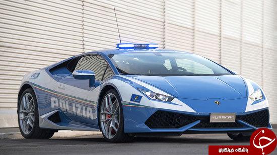 هدیه جدید لامبورگینی به ناوگان پلیس ایتالیا