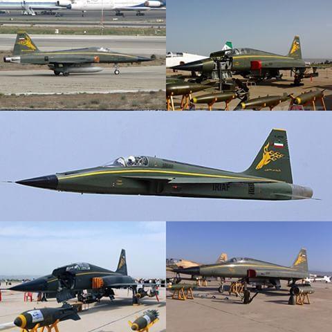 وحشت دشمن خارجی از آذرخش ایرانی+ جنگنده آذرخش را بهتر بشناسیم + تصاویر