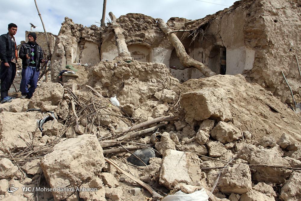 عکس های دلخراش از زلزله 6 ریشتری و خسارات آن در فریمان