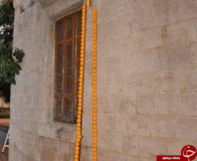 ساخت بلندترین تسبیح کهربایی در لبنان