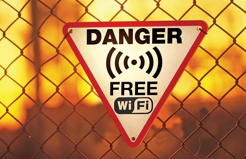 به وای فای رایگان در اماکن های عمومی متصل نشوید