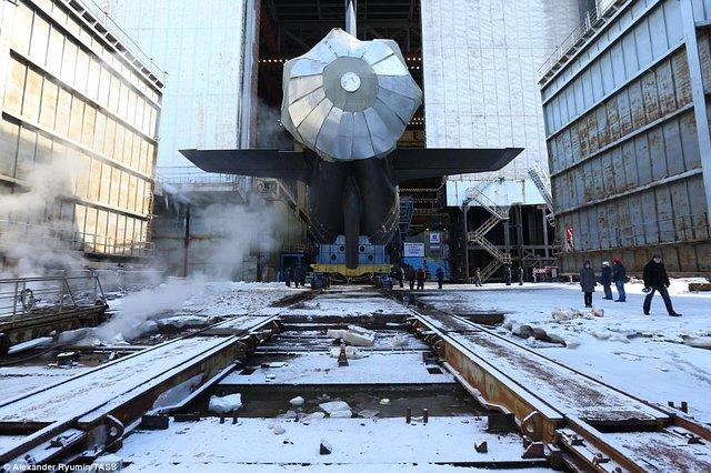 مشخصات قوی ترین زیردریایی هستهای روسیه +تصاویر