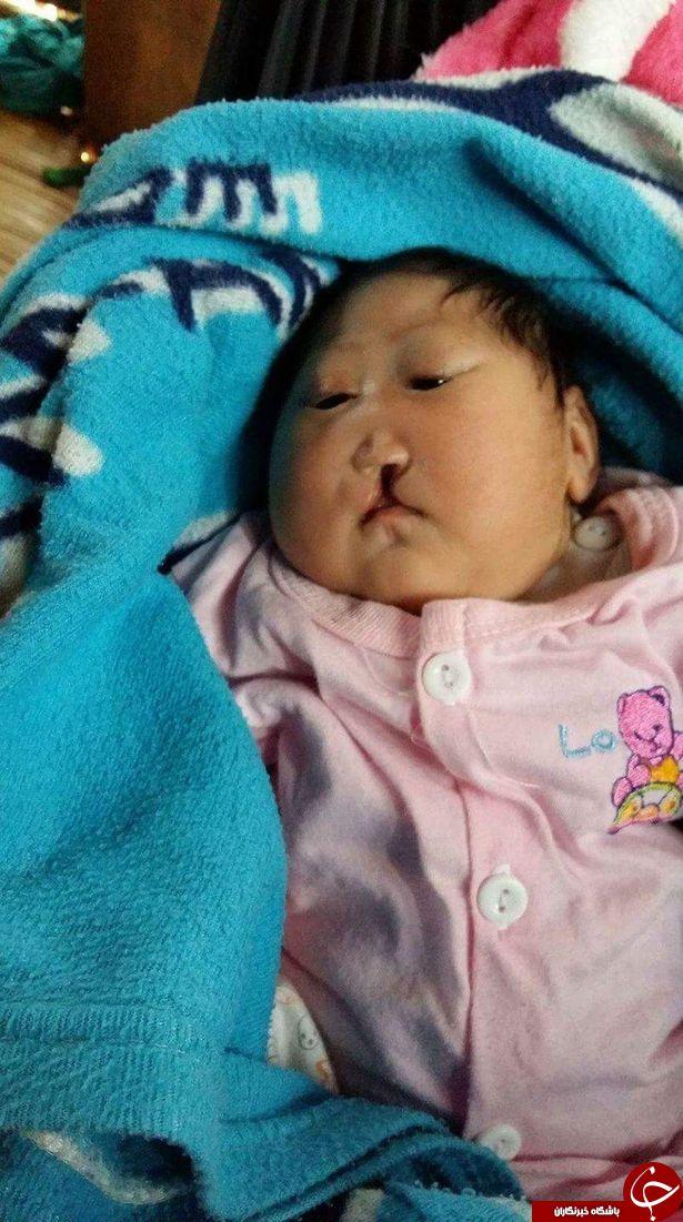 جدال با مرگ کودک تایلندی + تصاویر
