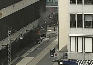 5 کشته در حادثه زیر گرفته شدن عابران پیاده در استکهلم