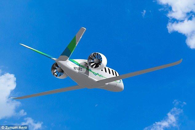 هواپیماهای هیبریدی بوئینگ در راه هستند