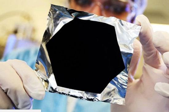 سیاه ترین ماده دنیا را ببینید +عکس