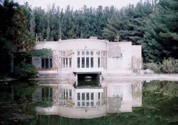 باشگاه خبرنگاران -تداعی چهلستون اصفهان در عمارت معصوميه