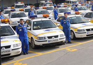 حضور اکیپ های امداد خودرو در ستادهای هدایت و اسکان