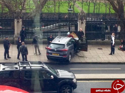 تیراندازی در نزدیک پارلمان انگلیس/ دست کم 12 نفر زخمی شدند