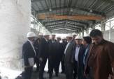 باشگاه خبرنگاران - بازدید وزیر صنعت، معدن و تجارت از کارخانه اکسید منیزیم سربیشه