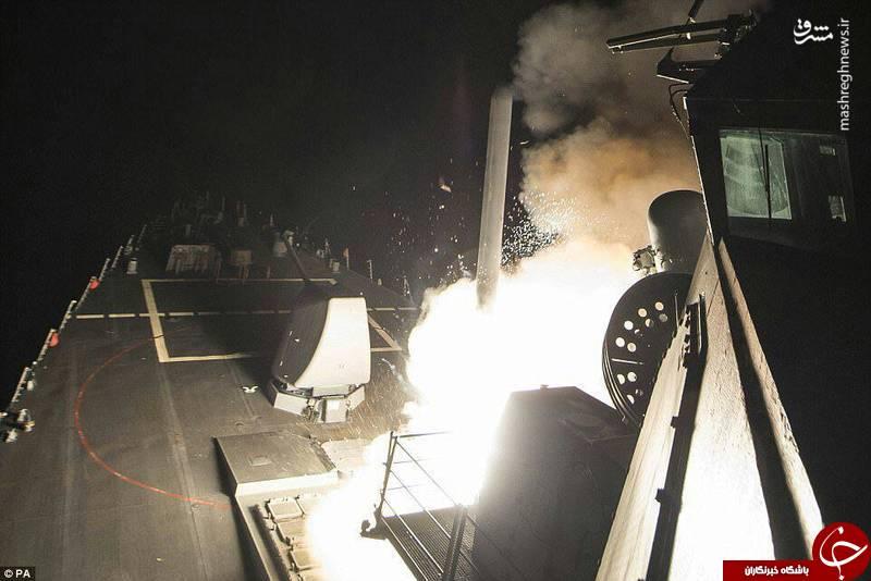 دقیقترین موشکهای کروز به هدف نخوردند! +تصاویر