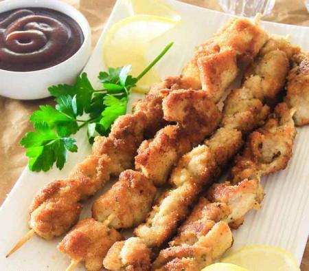 طرز تهیه کباب مرغ سوخاری