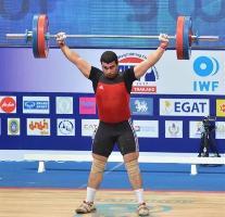 وزنه بردار ایرانی در جایگاه نهم جهان ایستاد