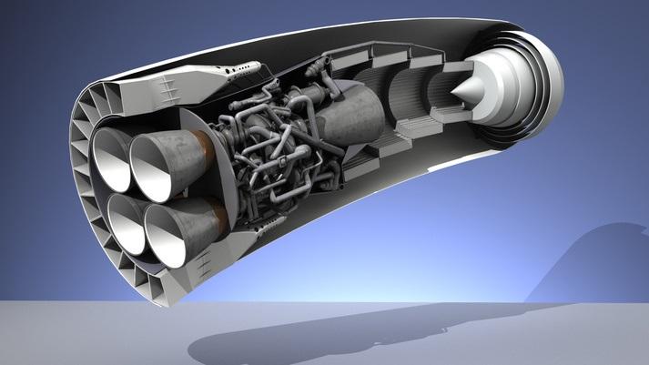 سازوکار موتور موشک چگونه است؟! +تصاویر
