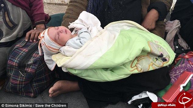 کودکانی که هنگام فرار از داعش به دنیا آمدند +تصاویر