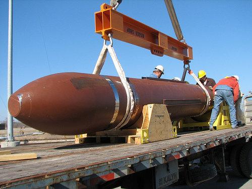 بزرگترين بمب آمريکا در افغانستان استفاده شد