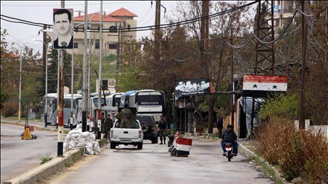 آغاز تخلیۀ 4 منطقۀ سوریه از نیروهای مسلح و غیرنظامیان