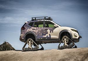 جدیدترین خودروی نیسان برای مناطق صعب العبور +فیلم
